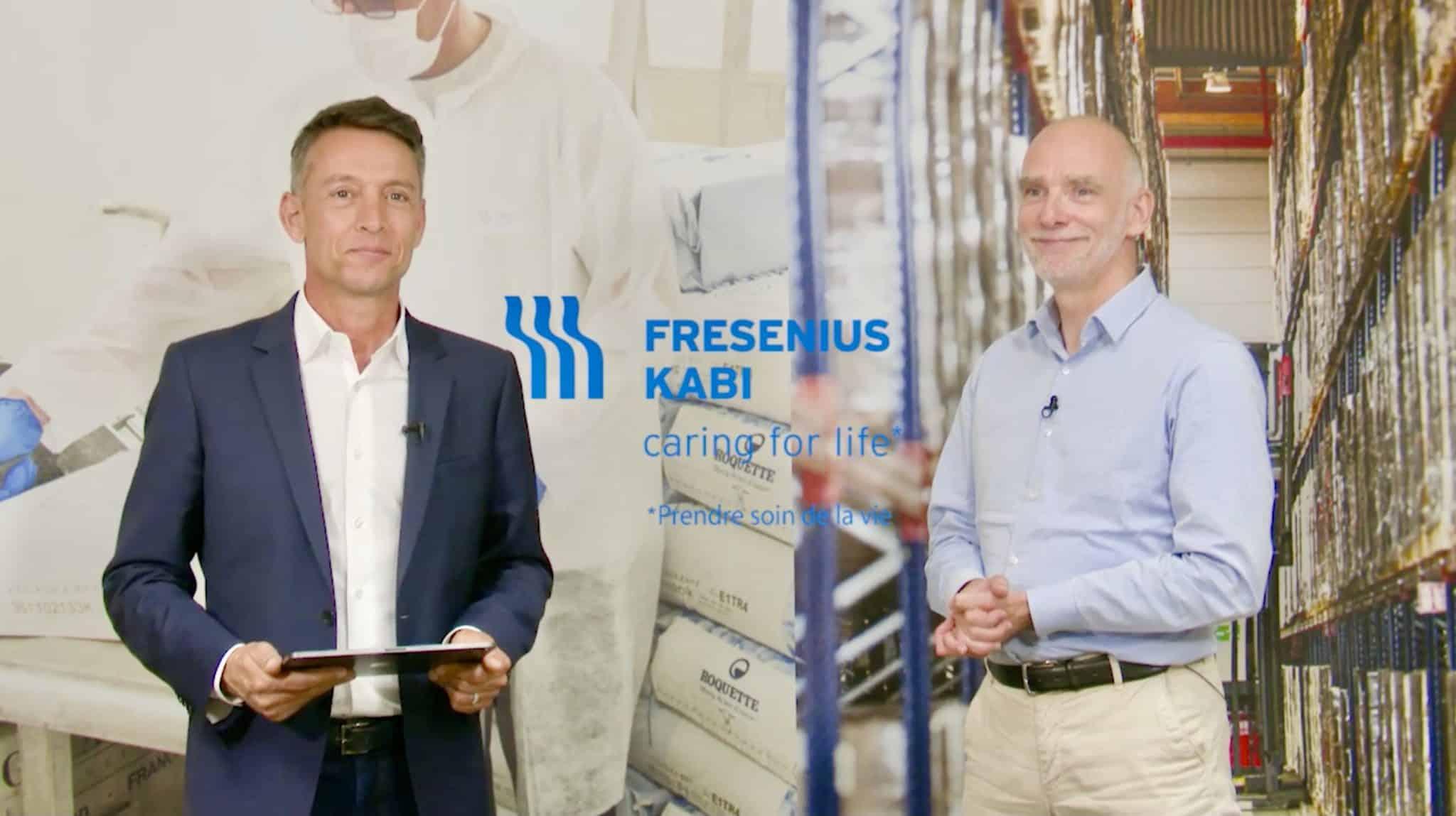 Présentation de Vidéo Corporate FRESENUIS KABI