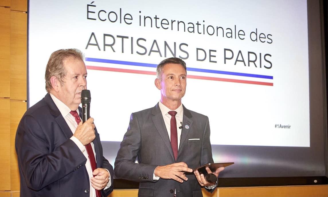 Présentation de l'inauguration de l'Ecole Internationale des Artisans de Paris